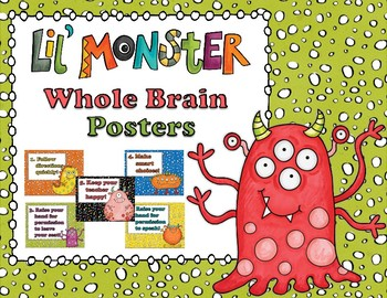 Lil Monster Whole Brain Rules Poster