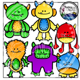 Monster Clipart (Cuddly Monsters)