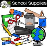 School Supplies Extras Clip Art