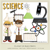 Lil Scientists Clip Art Graphics by Alice Smith