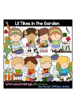 Lil Tikes In the Garden Clipart Collection