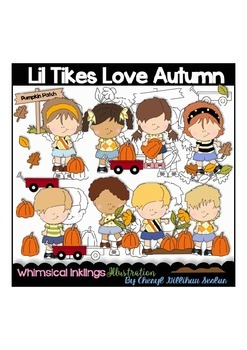 Lil Tikes Love Autumn Clipart Collection