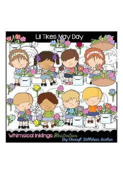 Lil Tikes May Day Clipart Collection