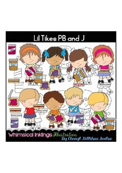 Lil Tikes PB and J Clipart Collection