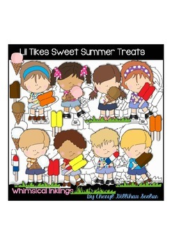 Lil Tikes Sweet Summer Treats Clipart Collection