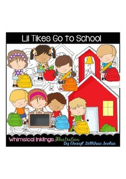 Lil Tikes go to School Clipart Collection