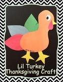 Lil Turkey Craft Template