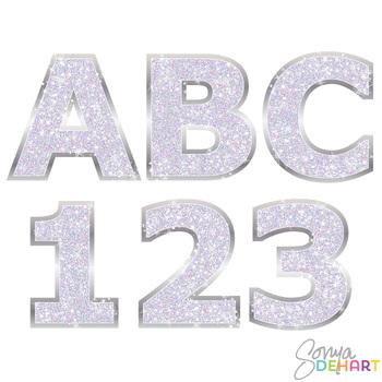 Alphabet - Lilac Glitter Bling