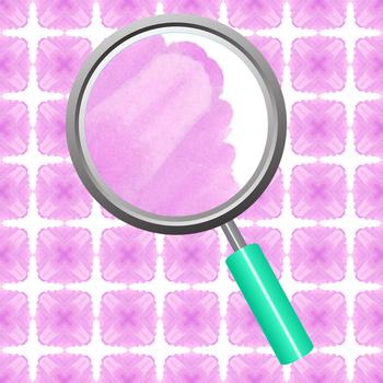 Lilac Squares Digital Paper / Backgrounds Clip Art Set for Commercial Use
