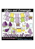 Lilacs And Lemonade Clipart Collection