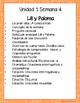 Lili y Paloma -Maravillas - Unidad 1 Semana 4