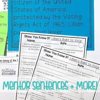 Lillian's Right to Vote: The Constitution and Voting Rights