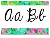 Lilly Inspired Alphabet Strip