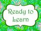Lilly Inspired Behavior Clip Chart | Bright Classroom Decor