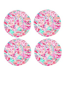 Lilly Inspired Library Labels *Editable*