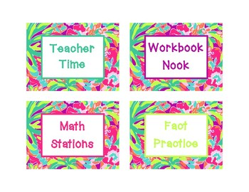 Lilly Inspired Math Workshop Set
