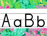 Lilly Inspired Primary Alphabet Strip