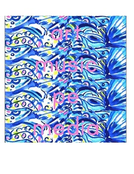 Lilly Inspired Schedule Cards