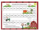 Lilly Lamb's Silent Letters gn, kn, wr, mb Literacy Station Game RF.1.3, RF.2.3