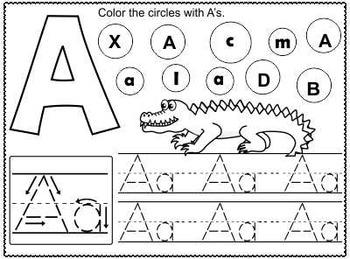 Alphabets ~ A-Z