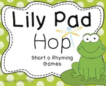 Lily Pad Hop Short o Rhyming Games