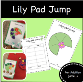 Lilly Pad Jump - Addition game/activity