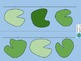 Lilly Pad Number Line with frogs