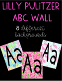 Lilly Pulitzer ABC Wall Posters