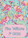 Lilly Pulitzer Inspired Binder Covers Volume One
