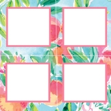 Lilly Pulitzer Inspired Cubby Labels Volume Two