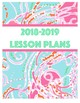 Lilly Pulitzer Inspired Notebook Inserts
