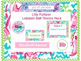 Lilly Pulitzer Lobstah Roll Classroom Theme Pack - EDITABLE
