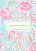 Lilly Pulitzer Teacher Binder Pages