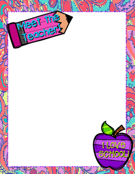 Lilly Pulitzer Welcome Letter