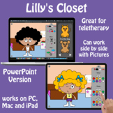 Lilly's Closet - a Digital Paper Doll