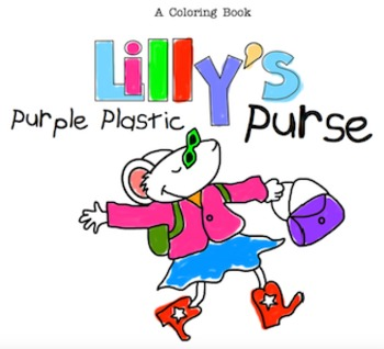 Lilly's Purple Plastic Purse - A Coloring Book