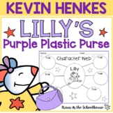 Lilly's Purple Plastic Purse Activities | Easel Activity Distance Learning
