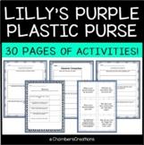 Lilly's Purple Plastic Purse Book Unit