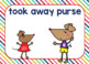 Lilly's Purple Plastic Purse Character Sort Boom Cards