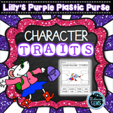 Lilly's Purple Plastic Purse - Character Trait Activities