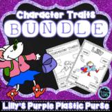 Lilly's Purple Plastic Purse Character Trait Bundle