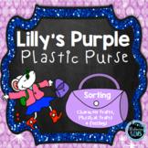 Lilly's Purple Plastic Purse -Character Trait Sort