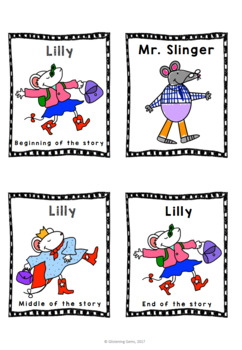 Lilly's Purple Plastic Purse - Character Traits Game