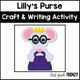 Lilly's Purple Plastic Purse Craftivity