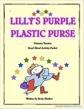 Lilly's Purple Plastic Purse Primary Activity Packet