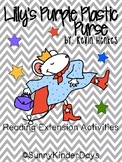 Lilly's Purple Plastic Purse Reading Activities