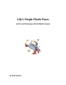 "Lilly's Purple Plastic Purse - beginning sound ""p"""