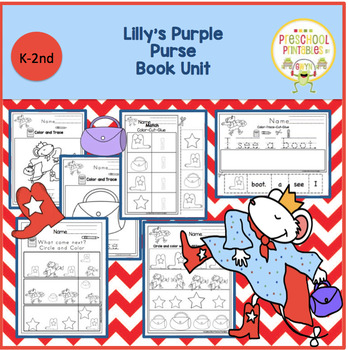 Lilly's Purple Purse Book Unit
