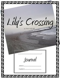 Lilly's Crossing Guided Reading Student Journal {FREEBIE}