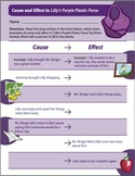 """""""Lilly's Purple Plastic Purse"""" Author Study Companion Lesson and Activity"""